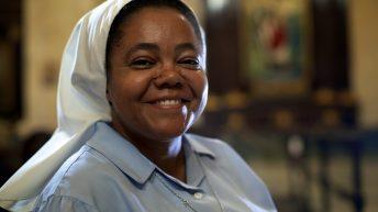 Katholische Nonne
