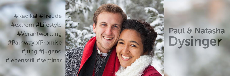 Paul und Natasha Dysinger